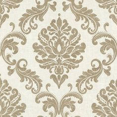 Shop Brewster Home Fashions Brewster Wallcovering Zinc Sebastion Damask Wallpaper at Lowe's Canada. Find our selection of wallpaper at the lowest price guaranteed with price match. Wallpaper Samples, Wallpaper Roll, Peel And Stick Wallpaper, Grey Wallpaper, Wallpaper Ideas, Classic Wallpaper, Bronze Wallpaper, Wallpaper Bookshelf, Cheap Wallpaper