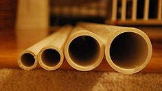 "Determine PVC Pipe Size for a Project - another site suggested ""Heavier items (Books, video tapes) would require larger size pipe 1 1/2"" or so. Normal items such as Holiday Décor and other lighter items could use the smaller pipe sizes 1"". It never hurts to go a little big just to be safe."""