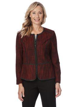 40187060af5 Noni B Womens Liz Jordan Amelia Structured Jacket Long Sleeve #fashion # clothing #shoes
