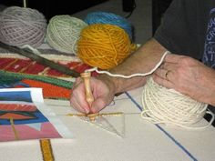 """Rug punching """"with yarn"""" tutorial - a set on Flickr"""