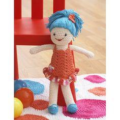 Free Pattern Lily Sugar 'N Cream Lily Doll | Hobbycraft