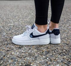 best cheap 9c453 dcbca Nike af1 07 Low White Grey Obsidian on feet Adidas Stan Smith White, Air  Force