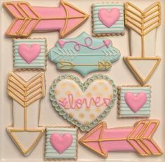 Valentines Day cookies. Credit /hollyhighthomas/