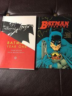 Batman Year One Hardcover & Batman Year Two TPB Lot - DC Comics    eBay #batman #yearone #frankmiller #dccomics #dcrebirth #justiceleague