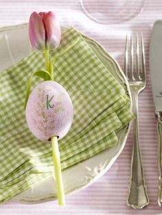 Tulips in Blown-Out Eggs: 1 of 48 Awesome Eggs Decoration Ideas For Your Easter Table