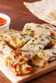 Zucchini Cheesy Bread Vertical