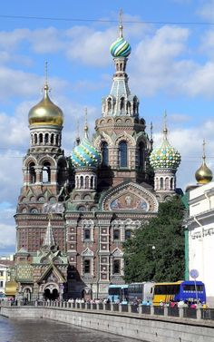 The Church of the Savior on Spilled Blood, St. Petersburg, Russia.