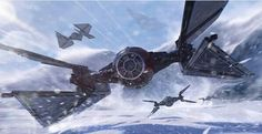 First Order Tie Fighter Close Combat