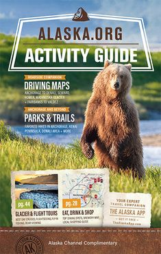 FREE Alaska Activities Guide for Alaska trip planning  Anchorage map