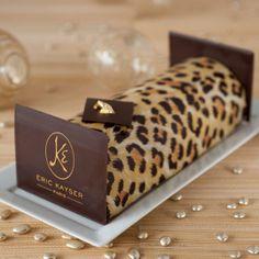 eric kayser's leopard buche de noel