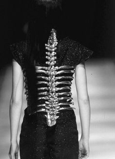 ribcage and backbone metal girdle