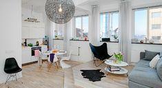 Дизайн интерьера однокомнатной малогабаритной квартиры