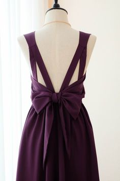 90b838043d Purple Plum dress Long Bridesmaid dress Wedding Dress Long Prom dress Party  dress Cocktail dress Maxi dress Evening Gown