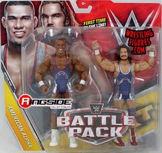 BRET HART STEVE AUSTIN WWE Mattel Wrestlemania 32 Battle Pack Figure Toy DMG PKG