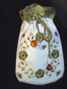 Bumblebee Treasure/Tarot Bag. $79.99, via Etsy.