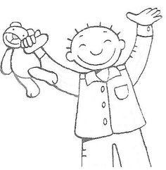 Pajama Day, Kids Education, Light In The Dark, Smurfs, Coloring Pages, Snoopy, Sketches, Teddy Bear, Cartoon