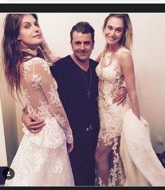 Com minhas divas pre desfile Nova coleção Atelier Geraldo Couto