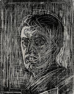 Edvard Munch, woodcut | Flickr - Photo Sharing!