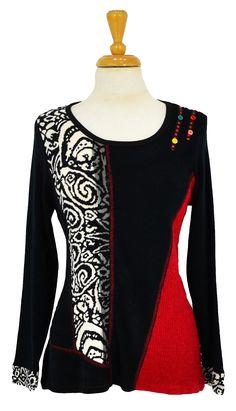 Simba Tunic~ Best selection of Tunics & matching accessories ~ Flat postage worldwide ~ Petite to Plus sizes ~ www.ilovetunics.com