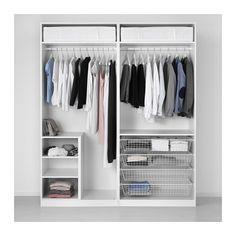 PAX Šatní skříň - standardní panty, 200x60x236 cm - IKEA