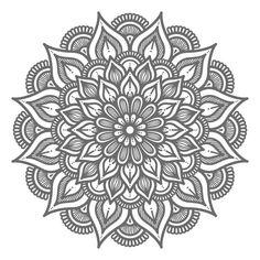 Cute Doodle Art, Doodle Art Designs, Mandala Wrist Tattoo, Frame Border Design, Page Decoration, Outline Illustration, Full Body Tattoo, Mandala Art Lesson, Embroidery Neck Designs