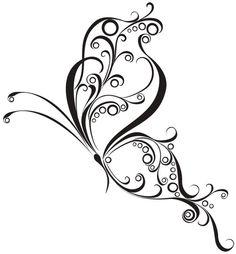 Butterfly tattoo design