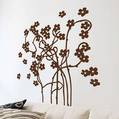Flirtatious Vine Wall Sticker II