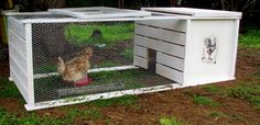 Materials: Gorm 78x55x174, chicken wire, a few pieces of wood, nails and screws  Description: I needed to make a movable chicken coop at a low price for a n