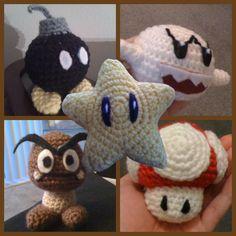 Crochet Mario bros