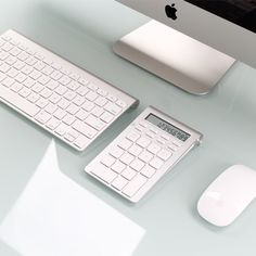 This sleek Bluetooth Wireless Smart Keypad is the perfect accessory for your workspace. Use it in Calculator Mode or Keypad Mode.