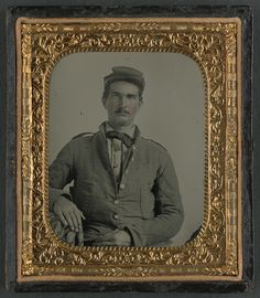 [Corporal L. Purnell of Co. I, 11th Mississippi Infantry Regiment, in uniform] (LOC)