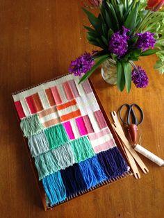 Weaving loom by Maryanne Moodie