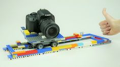 How to BUILD a LEGO Camera Slider for Stop Motion Animation - YouTube