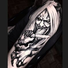 Many people mistake tattoos with more modern, rebellious cultures such as the alternative and pop-culture. Despite a lot of people being convinced that tattoos are a new thing and despite many peop… Naruto Tattoo, Manga Tattoo, Tattoo Drawings, Tattoos Anime, Japanese Demon Tattoo, Japanese Sleeve Tattoos, Future Tattoos, Tattoos For Guys, Seal Tattoo