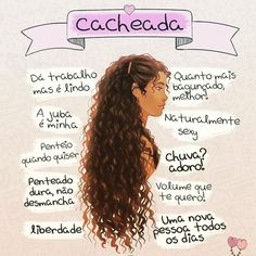 Resultado De Imagem Para Frases De Cacheadas Tumblr Cachos