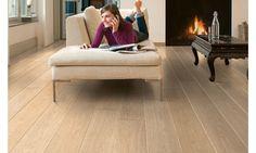 Quick-Step Laminate Largo White Varnished Oak Planks LPU1283