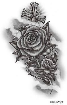 Image result for rosa aberta tattoo