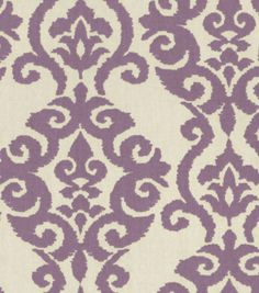 Home Decor 8''x 8'' Fabric Swatch Print Fabric-Waverly Luminary Lilac at Joann.com