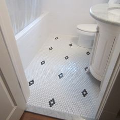 diamond pattern with hex tile