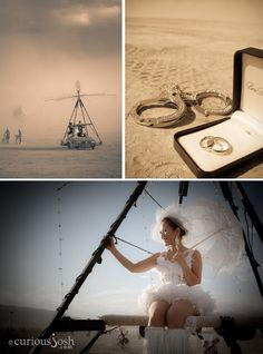 3Muse Press (InviteSite) is proud to have been a part of this Burning Man wedding.