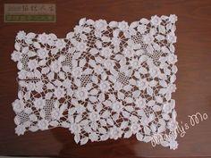 Crochê Tricô: Casaquinho em Crochê Irlandês