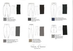 Flat Drawing Board - Trousers/Shorts