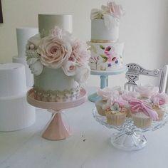 Consultations today!!! #nzwedding #newzealandwedding #weddingcake #wedding #vintagecake #vintagewedding #cakedecorating #cake #sugarroses #sugarflowers #gumpasteroses #gumpasteflowers #instacake #cakesofinstagram #cakestagram #pinkroses #roses #nzcakedecorators Shabby Chic Cakes, Gum Paste Flowers, Sugar Flowers, Pink Roses, Cake Decorating, Wedding Cakes, Instagram Posts, Cupcakes, Cookies