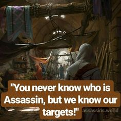 Assassins.world - Instagram - Assassins Creed - Quotes - Hidden Blade - Brotherhood - Assassins quotes - Desmond Miles - AC1 - AC2 - AC3 - #assassinscreed Assassins Creed Quotes, Hidden Blade, Ac2, Assassin's Creed, Elder Scrolls, Unity, Qoutes, Video Games, Movie Posters