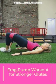 If you're looking to build stronger glutes, this frog pump workout is a killer! Frog pumps not only help you build strength but specifically target your booty area. Weight Lifting Tips, Weight Training, Gain Muscle, Build Muscle, You Fitness, Fitness Tips, Good Fats, Muscle Building, Workout For Beginners