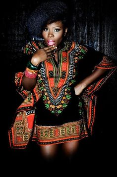 Traditional Print Dashiki Each dashiki has a hue, and a soft, roomy feel. The border color on the dashiki may vary from the picture. One size fits all. African Inspired Fashion, African Print Fashion, Africa Fashion, Ethnic Fashion, African Prints, Ankara Fashion, Fashion Dresses, African Attire, African Wear