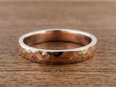 Your place to buy and sell all things handmade Wedding Ring Styles, Wedding Bands, Rose Wedding, Or Rose, Rose Gold, Band Rings, Bling, Engagement Rings, Jewels