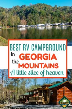 Looking for an RV campground recommendation for Northern Georgia? We have just the place for you. This is the best RV campground in Georgia, so much so that we stayed here when we first started full-t Hiking Places, Camping Places, Kayak Camping, Camping Hammock, Camping Site, Campsite, Resorts In Georgia, Best Rv Parks, Canada National Parks