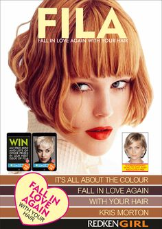 Check out FILA our interactive E Magazine. We have lots of great prizes to give away. Redken Hair Color, Redken Hair Products, Hot Hair Colors, Falling In Love Again, Hair Magazine, About Hair, Fall Hair, Pink Hair, Pretty Hairstyles