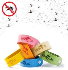 $10 for 5 Insect Repellent Wrist Bands - Taxes & Shipping Included